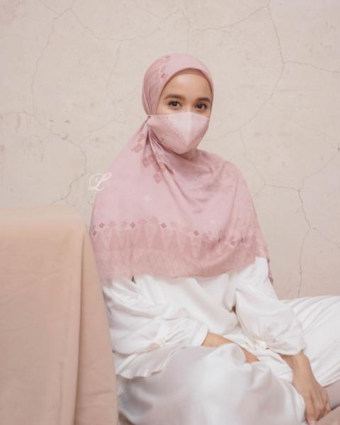 Masker Minang Dusty Pink