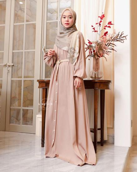 ATIYA DRESS KHAKI