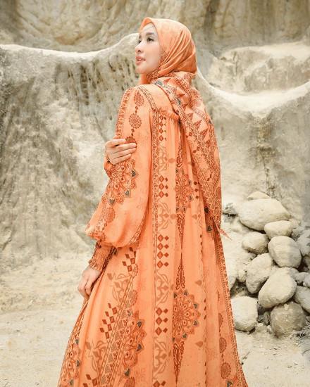 LAIKA HONEY MUSTARD DRESS