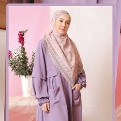 Bismillahirrahmanirrahim,Hanania Series;LilacLilac is a pale and soft violet shade that represents innocence, youthfulness, spirituality, and tranquility 💜Available for order through whatsapp admin, e-commerce and offline store💖Official Store: Kota Kasablanka Mall Lantai 1 081511247717Website: www.lbylcb.com Malaysia: +60 112-1257-168 Whatsapp 1: +62 812-9125-6179 Whatsapp 2: +62 8211-2250-088 Whatsapp 3: +62 812-2181-6645 CS Website: +62 8124-4687-795#LbyLCB #LoveConfidenceBeauty #HananiaSeries